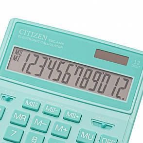 Калькулятор Citizen SDC444XRGNE бухгалтерский 12р., зеленый, фото 2