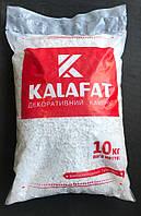 Декоративный Камень Белая Мраморная крошка Kalafat (упаковка 10кг) Фракция 4-8 мм