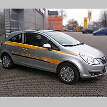 Молдинги на двері для Opel Corsa D 3 Door 2006-2014
