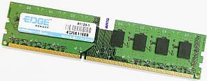 Оперативная память Edge DDR3 4Gb 1333MHz PC3 10600U CL9 2R8 (4GN611608) Б/У