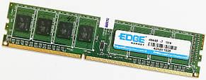 Оперативная память Edge DDR3 4Gb 1333MHz PC3 10600U CL9 1R8 (4GN611608) Б/У