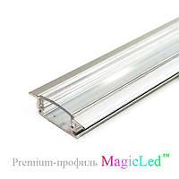 Алюминиевый врезной профиль для светодиодной ленты №2