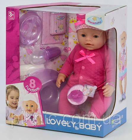 Пупс функциональный для девочки от 3 лет Детский пупсик, кукла, игрушка, подарок, фото 2