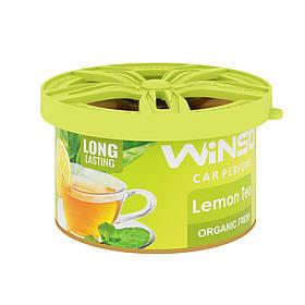 Ароматизатор Organic Fresh Lemon Tea 40 гр. Winso (533290)