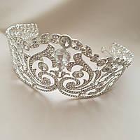 Свадебная тиара- веночек- ободок для невесты