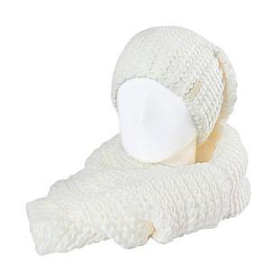 Комплект женский  Odyssey Кай С шарфом S 34 8 молочный ( 43563008 m )