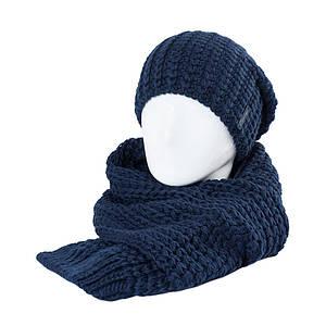 Комплект жіночий Odyssey Кай З шарфом S 34 127 темно синій ( 43563127 m )