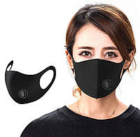 Многоразовая маска с клапаном Pitta Greend Mask, фото 1
