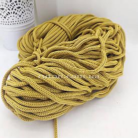 5 мм 85 м песочный Шнур полиэфирный без сердечника ХендМейд для вязания ковриков и сумок