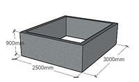 Мега септик 2.5 x 3.0 x 0.9
