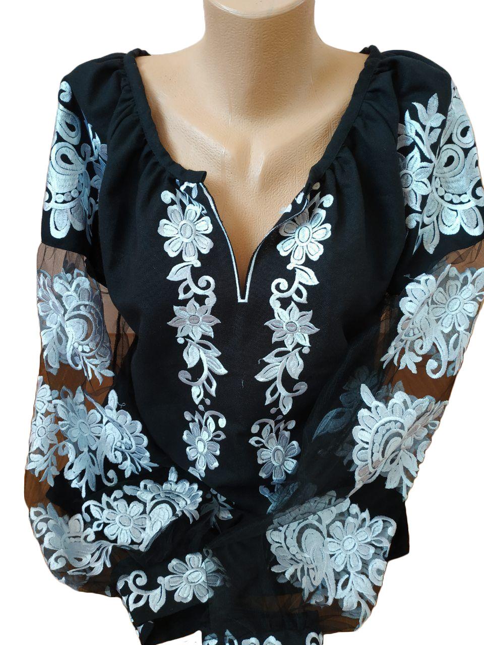 "Жіноча вишита сорочка (блузка) ""Патрисія"" (Женская вышитая рубашка (блузка) ""Патрисия"") BT-0011"