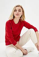 Женский лёгкий свитшот Красный