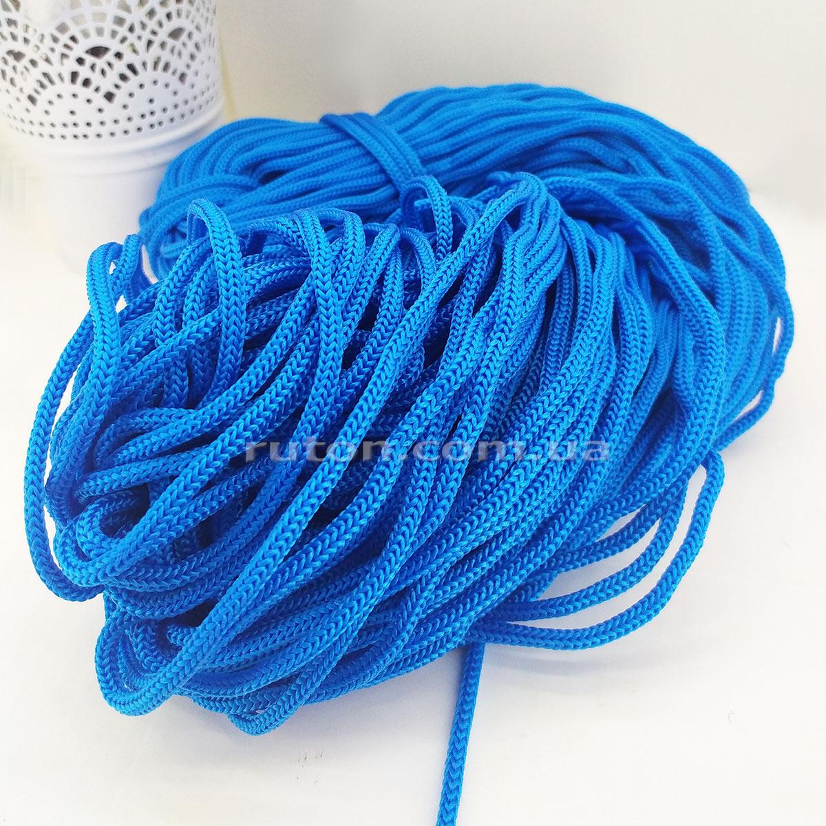 Шнур полиэфирный без сердечника 5 мм 85 м электрик