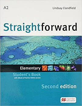 Straightforward Second Edition Elementary Student's Book with Online Access Code and eBook