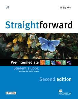 Straightforward Second Edition Pre-Intermediate Student's Book with Online Access Code and eBook