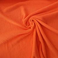 Флис неоново-оранжевый, ш. 150 см, фото 1