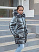 Зимний пуховик для девочек  от производителя 34-40 бежевый, фото 8
