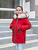 Зимняя куртка парка для девочки от производителя 32-42 черный, фото 3