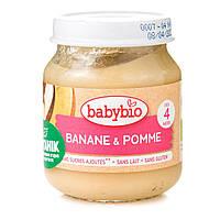 Органическое Пюре Babybio Яблоко Банан 130 г 51077 ТМ: Babybio