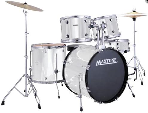 Барабанна установка MAXTONE MXC3005 (White), фото 2