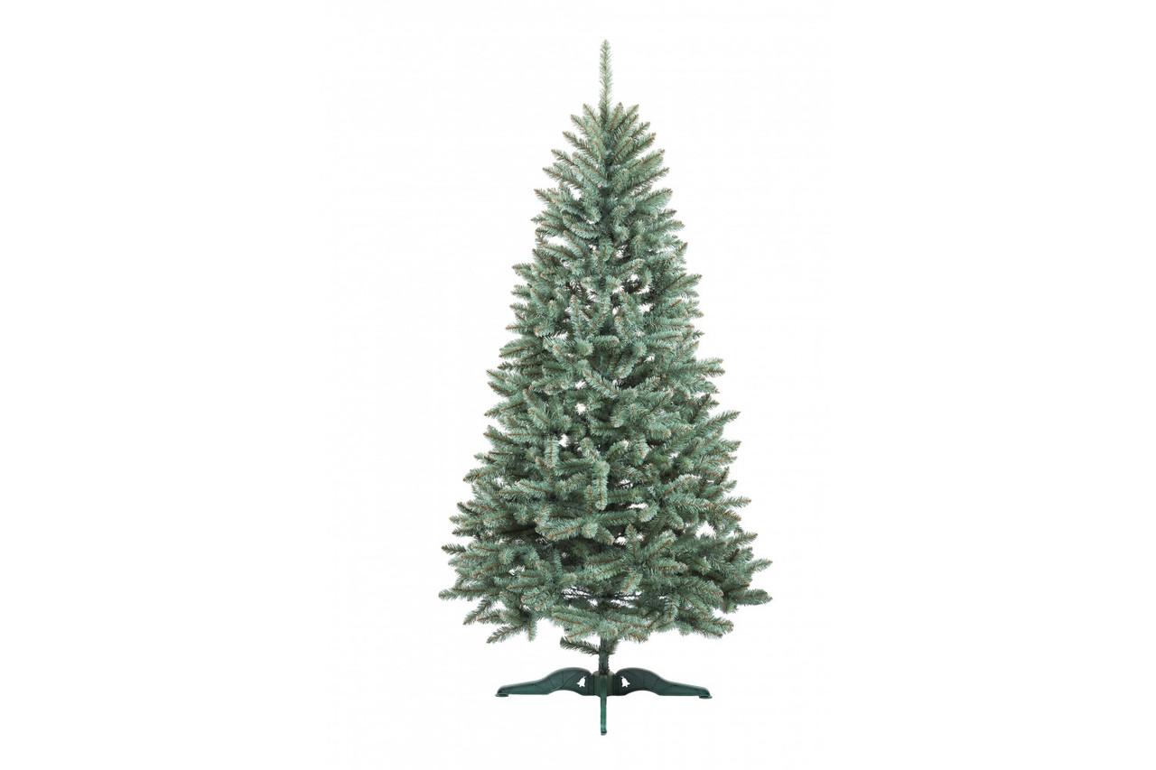 Искусственная елка Анастасия 1,5 метра  пушистая , на подставке