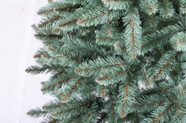 Искусственная елка Анастасия 1,5 метра  пушистая , на подставке, фото 2