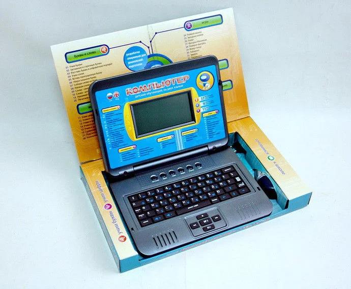 Дитячий ноутбук Комп'ютер 7072 російська - англійська