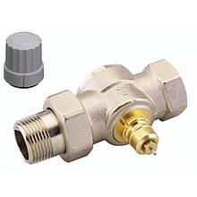 """Клапан Danfoss подключения радиатора/отопления, теплый пол RA-G 15 термостатический, вх. 1/2"""" - вых. 1/2"""","""