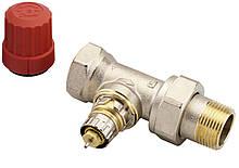 """Клапан Danfoss подключения радиатора/отопления, теплый пол RA-N 20 термостатический, вх. 3/4"""" - вых. 3/4"""","""