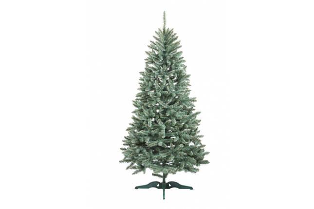 Искусственная елка Анастасия 2,1 метра  пушистая , на подставке, фото 2