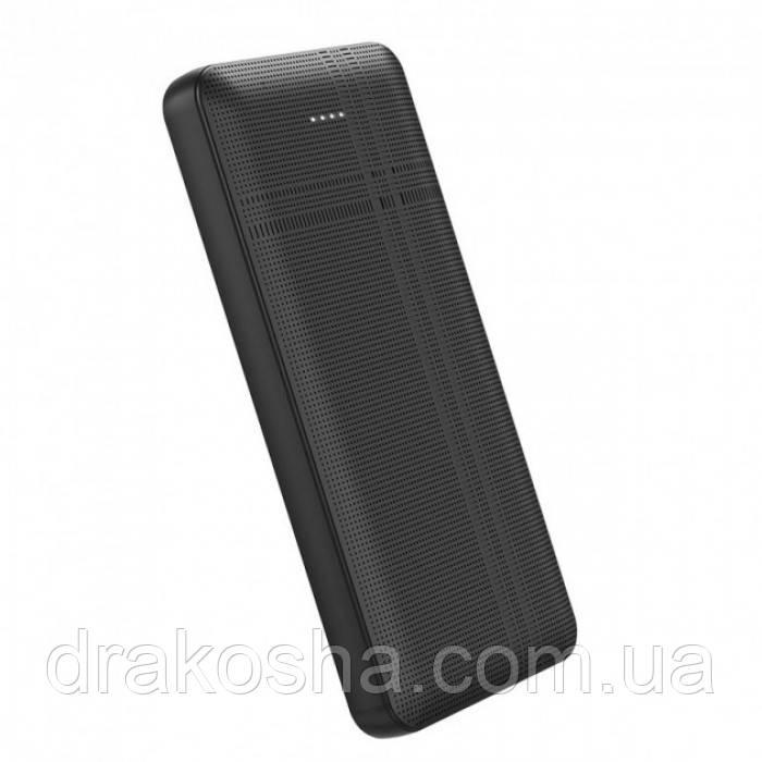 Внешний аккумулятор Hoco J48 Nimble 10000 Mah батарея зарядка Чёрный