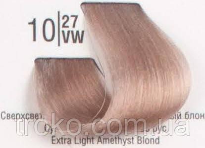 Краска для волос Spa master professional 10/27VW Сверхсветлый перламутровый коричневый блонд 100 мл