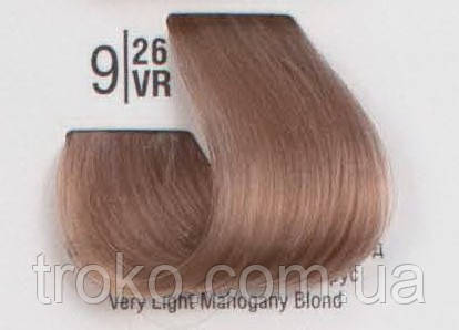 Краска для волос Spa master professional 9/26VR Очень светлый махагоновый блонд 100 мл