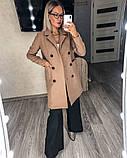 Пальто кашемировое  на подкладке,застегивается на пуговицы. Р-р.42-44,44-46,46-48,50-52,54  Код А-391З, фото 2