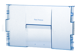 Панель откидная 385x240мм морозильной камеры Beko 4312611200