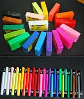 Полимерная глина Пластишка (Bebik) – брусок 250г. цвет №0112 (фиолетовый)