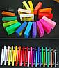Полимерная глина Пластишка (Bebik) – брусок 250г. цвет №0206 (розовый флуоресцентный)