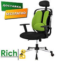 Кресло Barsky Ergonomic green кресла для офиса
