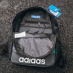 Спортивний міський рюкзак Adidas Bags Mate Reflective (чорно-сірий) 515KN, фото 3