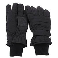 Перчатки с утеплителем и манжетой чёрные MFH, Размер XXXL XXL