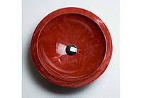 Раковина врезная Adamant MOON 460 red & white (ДхВ, мм. - 460х148)