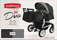 Детская коляска для двойни Adbor Duo stars D-04