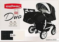 Детская коляска для двойни Adbor Duo stars D-05