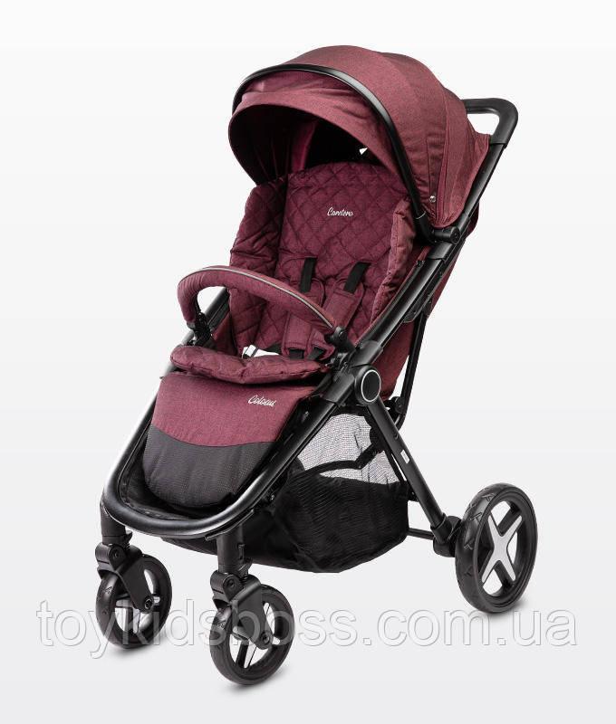 Детская прогулочная коляска Caretero Colosus burgundy