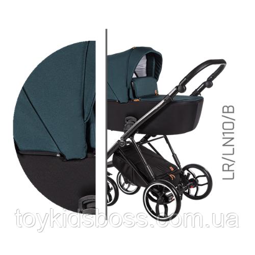 Детская универсальная коляска 2 в 1 Baby Merc La Rosa LR.LN10.B