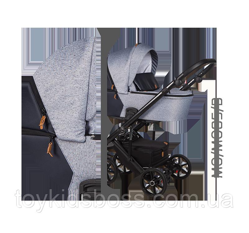 Детская универсальная коляска 2 в 1 Baby Merc Mosca MO.MO05.B