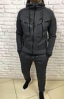 Теплый спортивный мужской костюм Nike Caprice Grey W