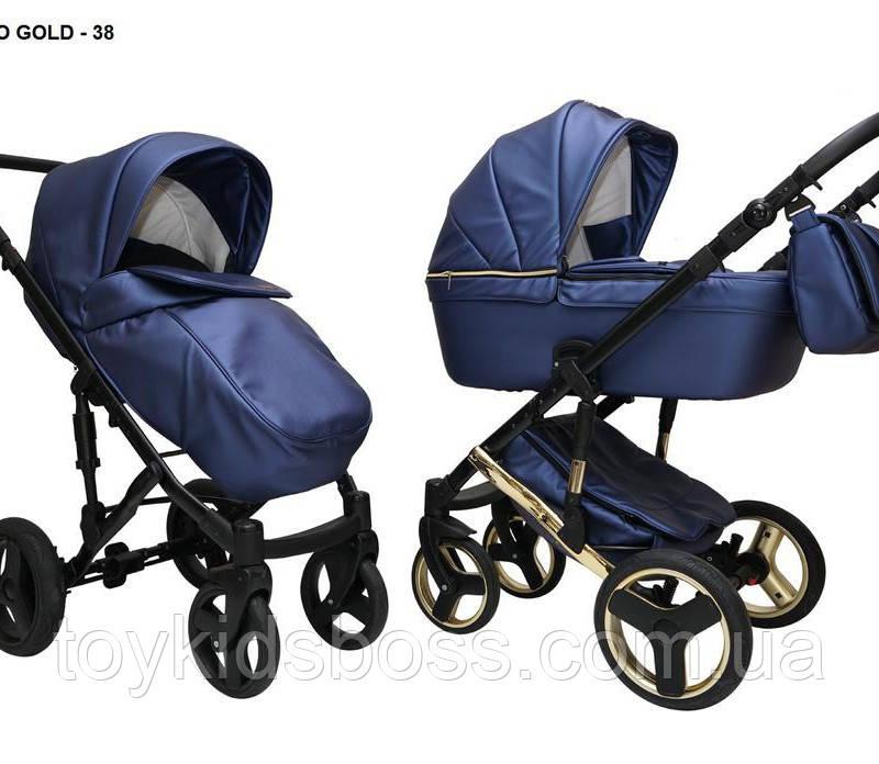 Детская универсальная коляска 2 в 1 Mikrus Hugo 38