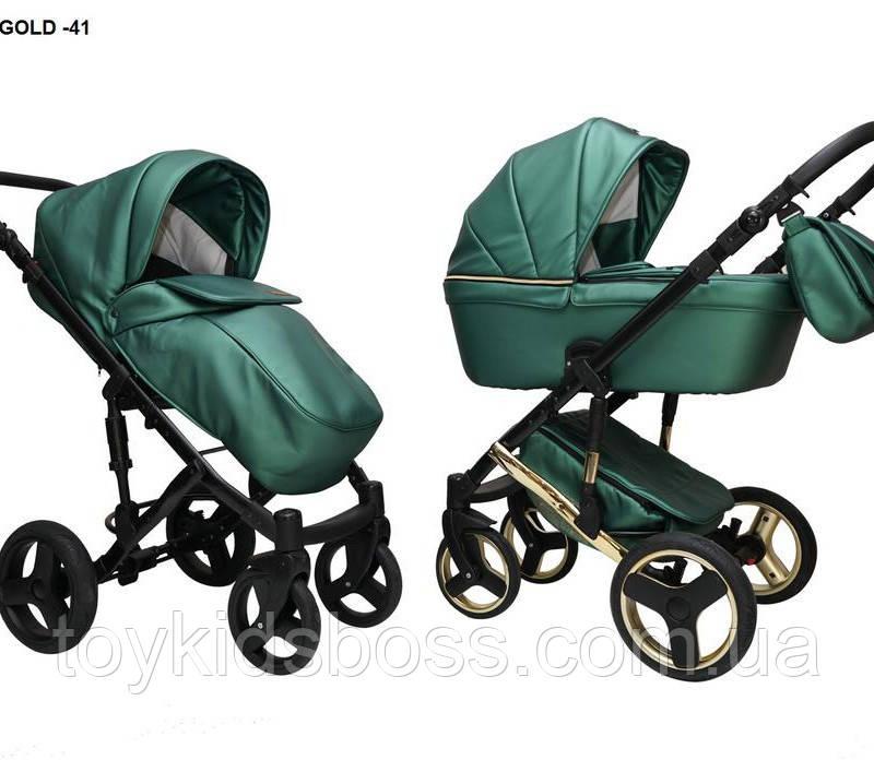 Детская универсальная коляска 2 в 1 Mikrus Hugo 41