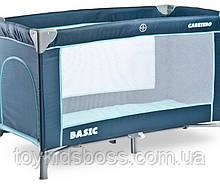 Детский манеж-кровать Сaretero Basic navy